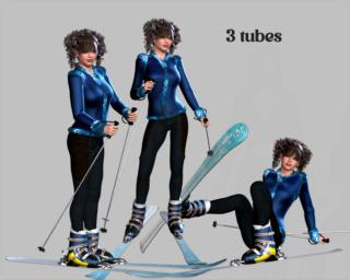 Tubes en 3D - Snow briiss 053