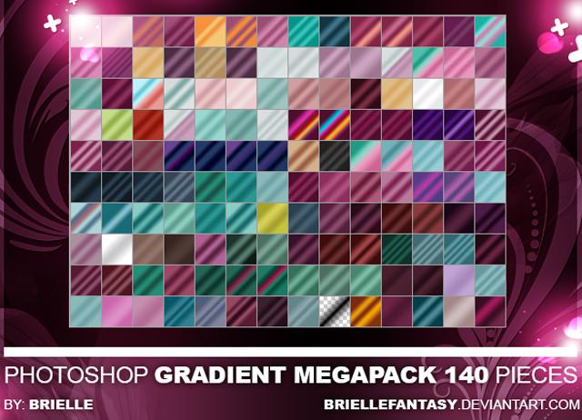 Mega Photoshop Gradient Pack 09_meg10
