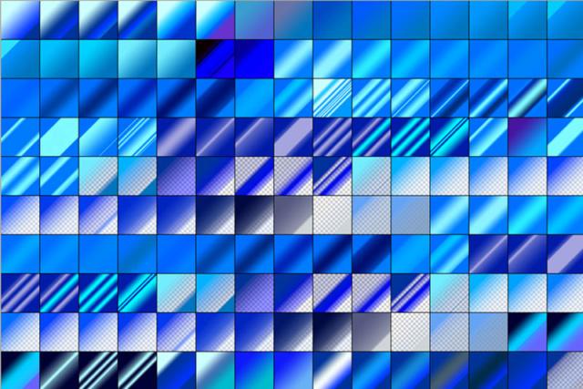 150 BLUE GRADIENTS 150-bl10