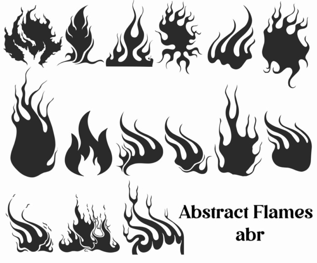 *☆* Abstract & Flames Brushes *☆* Abstra10