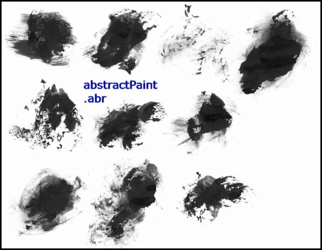 *☆* Abstract Paint Brushes *☆* Abstra12