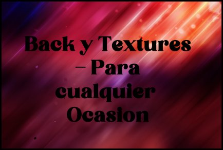★ Back y Textures - Para cualquier Ocasion ★  Back_y15