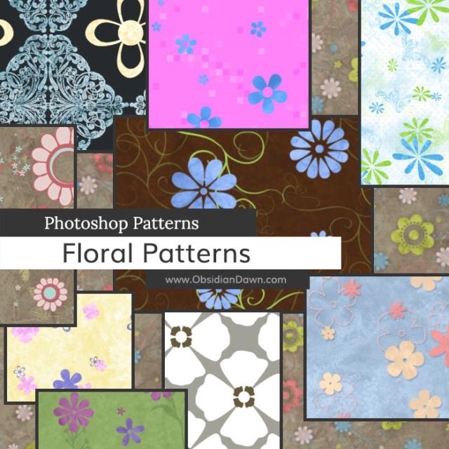 Floral Photoshop Patterns D1hgey10