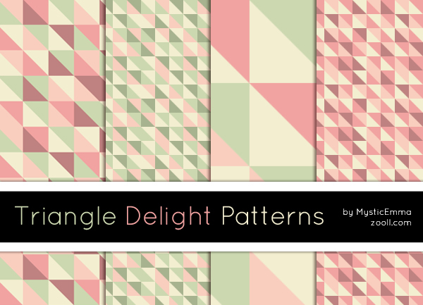Triangle Delight Patterns D6fplc10