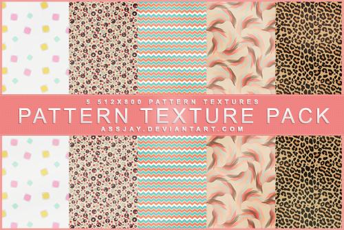 PATTERN TEXTURE PACK | ASSJAY D896xb10