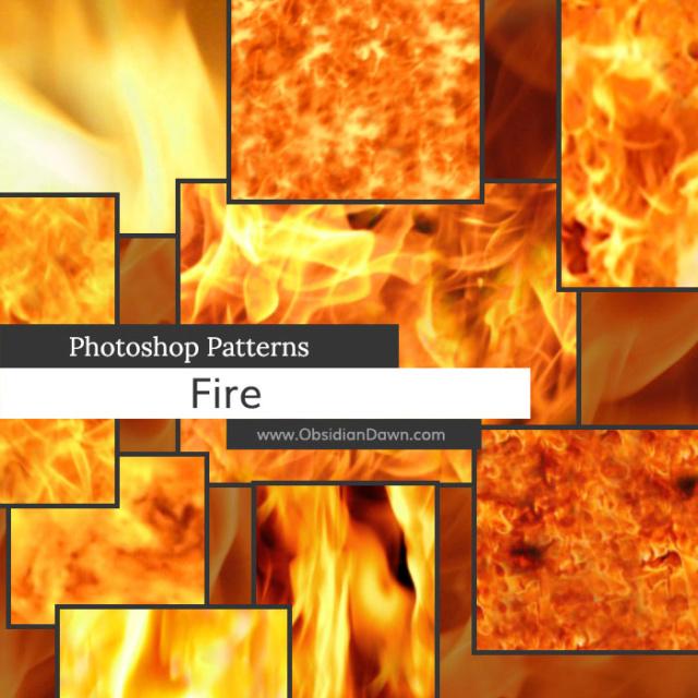 Fire Photoshop Patterns D8ve5610