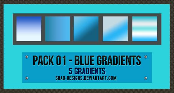 Pack de Blue Gradients D9aun910