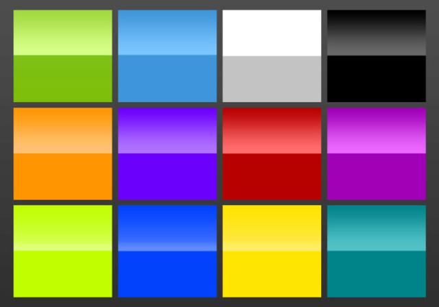Paquete Gradientes De Brillo Gloss-10