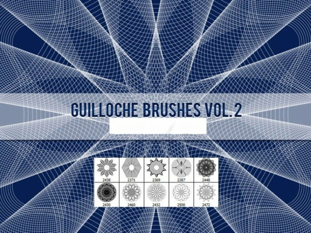★ Guilloche Brushes Vol. 2  ★ Image114