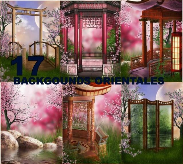 17 Oriental Backgrounds for Photomontages & 17 Fondos Orientales para Fotomontajes Fotograficos Image411