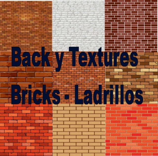 Back y Textures - Bricks - Ladrillos Image412