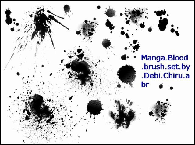*☆* BLOOD MANGA BRUSHES *☆* Manga_10