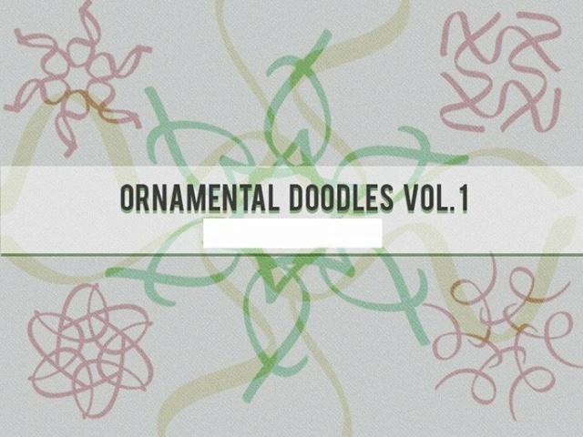 *☆* Pinceles Ornamentales Doodle Vol. 1 *☆* Orname11