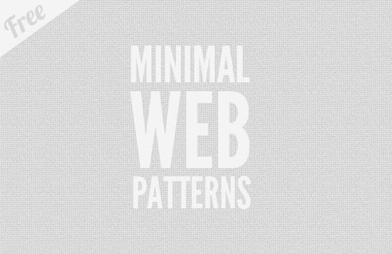 12 Free Minimal Web Patterns Patter17