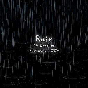 Rain free Brushes - Pinceles de LLuvia Libre Rain-f10