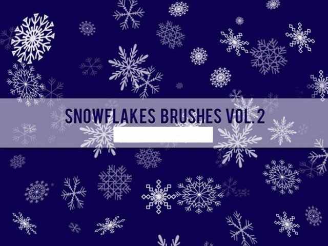 *☆*Snowflakes Brushes Vol. 2*☆* Timthu14