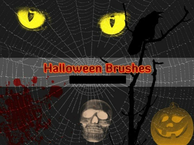 *☆* Halloween Brushes *☆* Timthu16