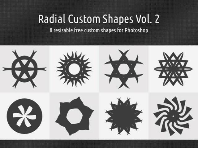 *☆*  Radial Custom Shapes Vol. 2 *☆*  Timthu18