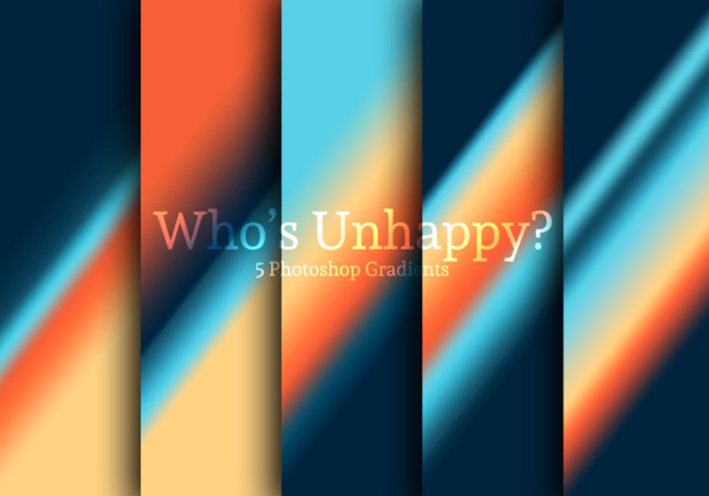 Who's Unhappy? Photoshop Gradients Who-s-10