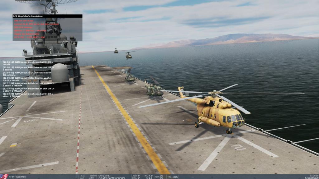 Retour de mission réussie sur QESHM Screen19