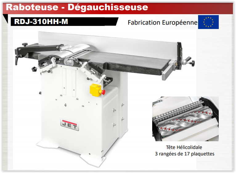JET - Rabo/Degau - Nouvelle gamme RDJ Rdj-3110