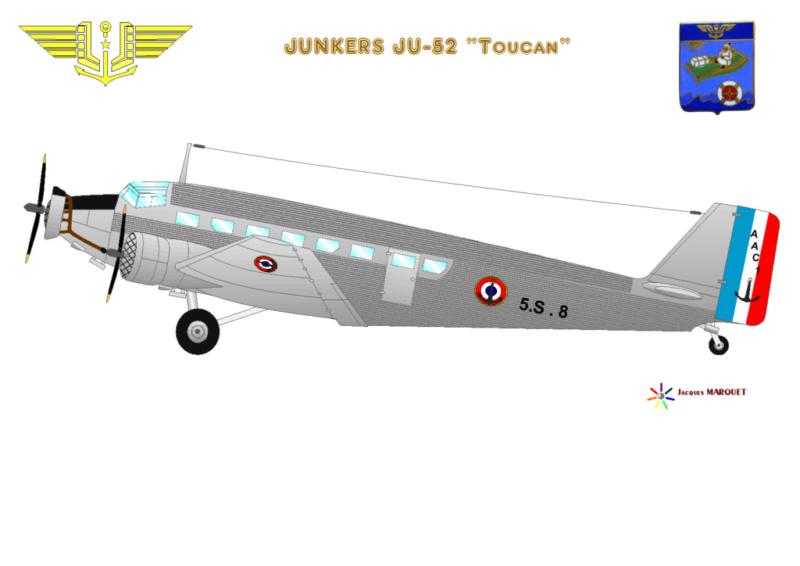 JUNKERS 52 ou AAC-1 Toucan ou Julie Ju-52_10