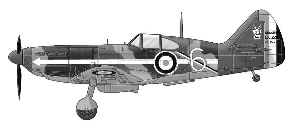 Montage: Dewoitine D520 Vichy en Syrie  D520_c22