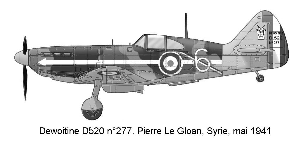 Montage: Dewoitine D520 Vichy en Syrie  - Page 2 D520_c23