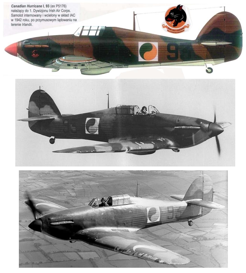 Montage: Hurricane MkI irlandais Hurric10