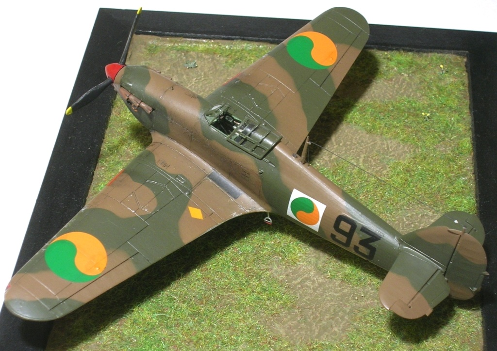 Hawker Hurricane MkI irlandais 1/72 Hurric29