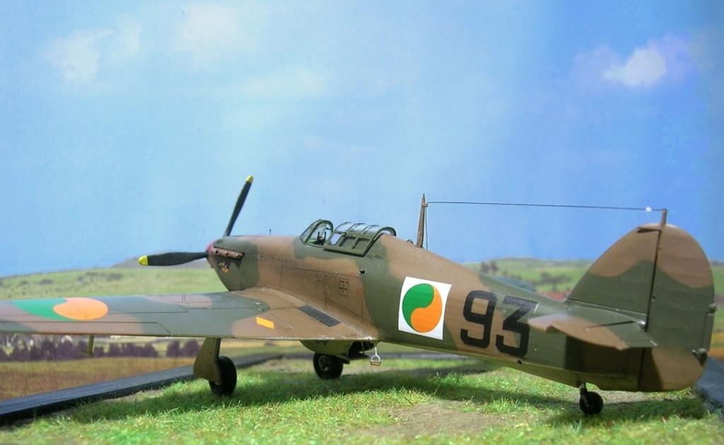 Hawker Hurricane MkI irlandais 1/72 Hurric34