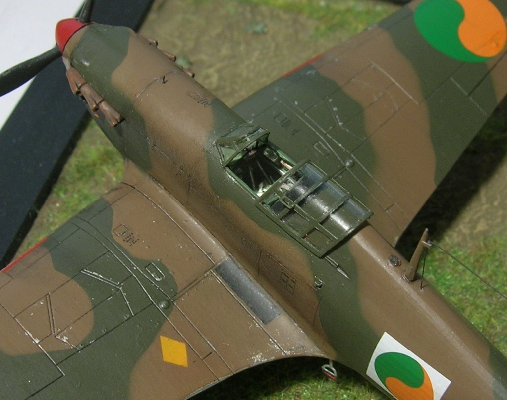 Hawker Hurricane MkI irlandais 1/72 Hurric35