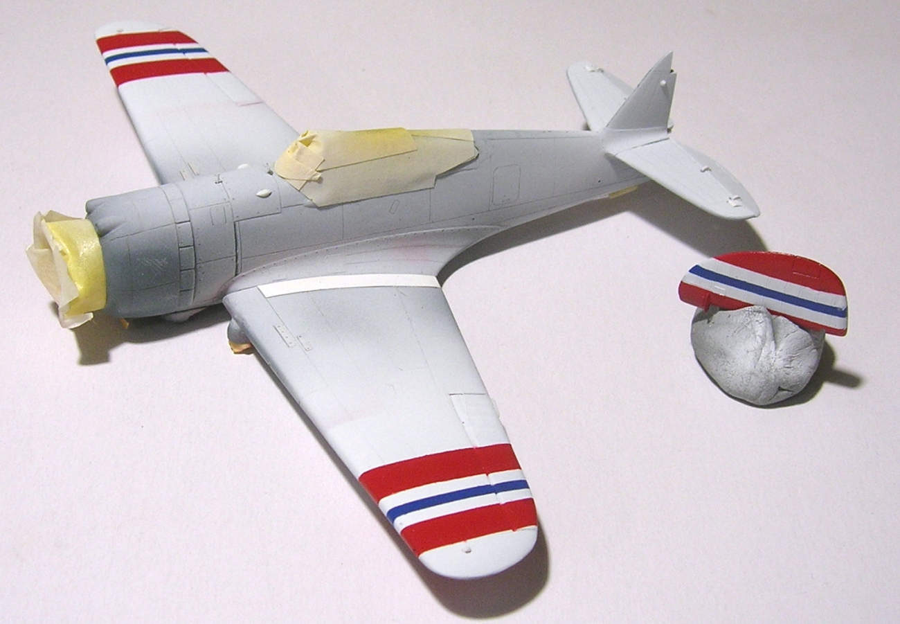 Montage_Curtiss H75A6 Hawk norvégien 1/72 - Page 4 Monta136