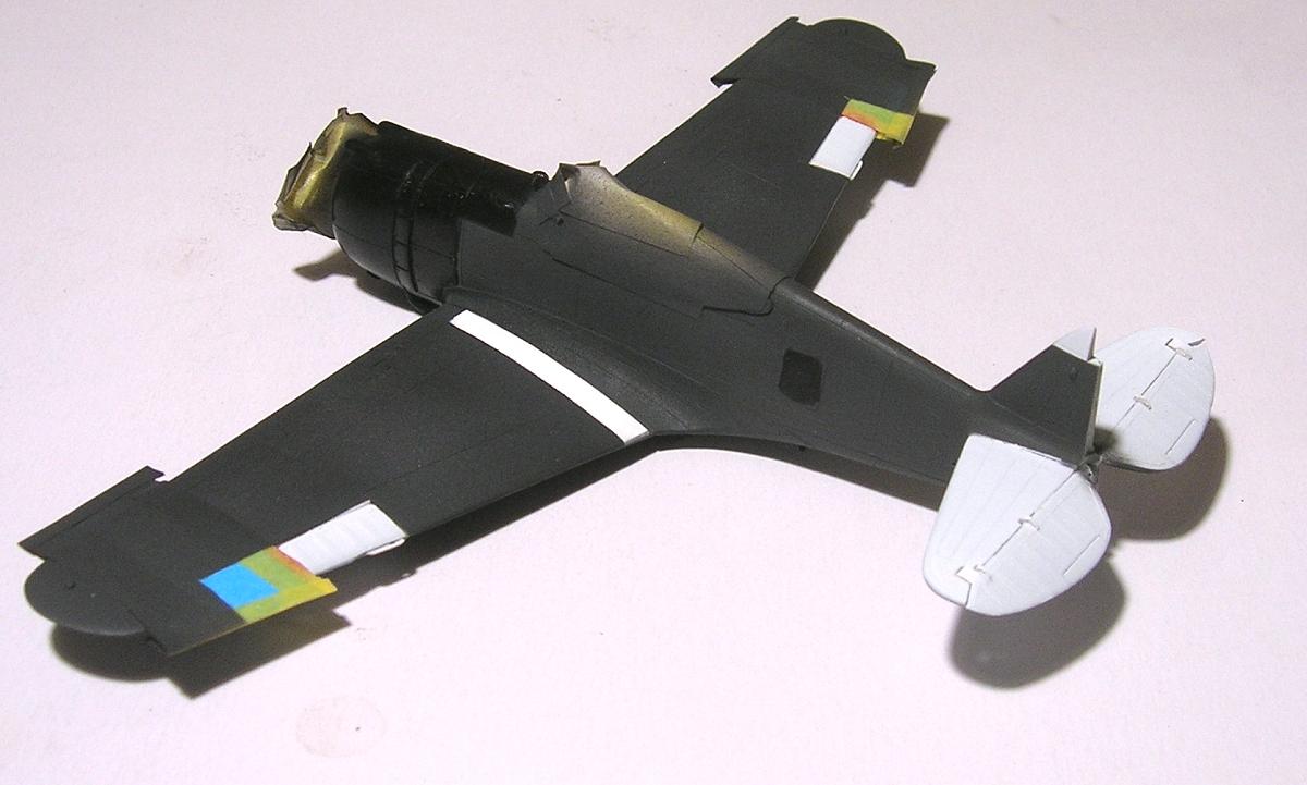 Montage_Curtiss H75A6 Hawk norvégien 1/72 - Page 4 Monta137