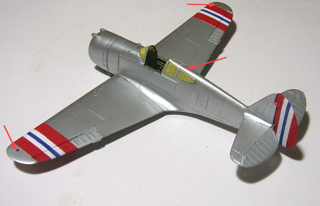 Montage_Curtiss H75A6 Hawk norvégien 1/72 - Page 4 Monta138