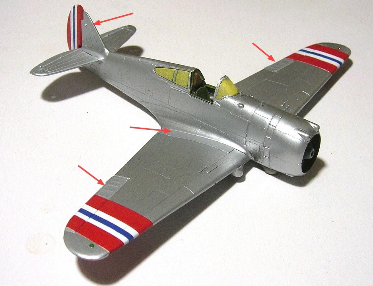 Montage_Curtiss H75A6 Hawk norvégien 1/72 - Page 4 Monta139