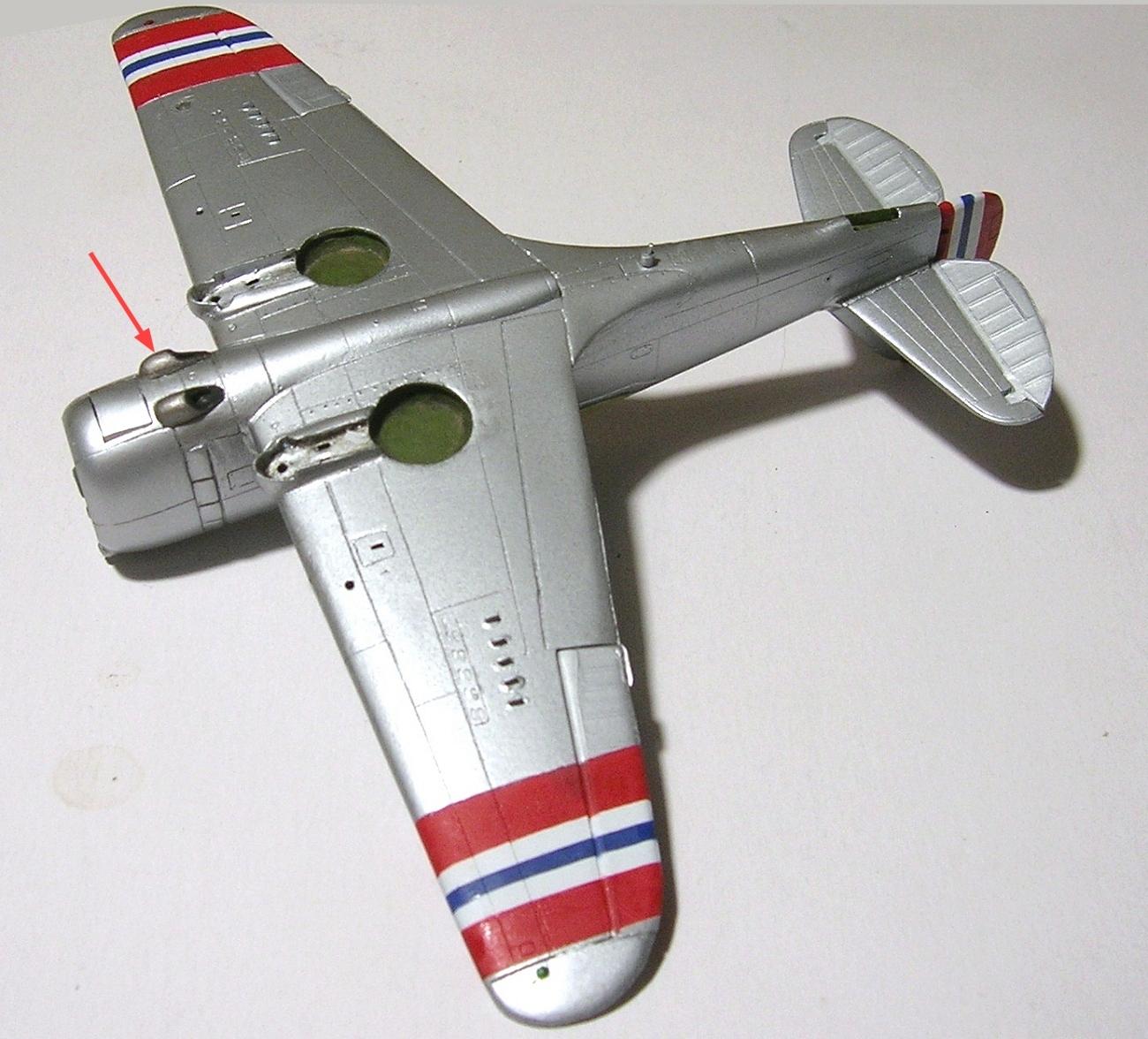 Montage_Curtiss H75A6 Hawk norvégien 1/72 - Page 4 Monta140