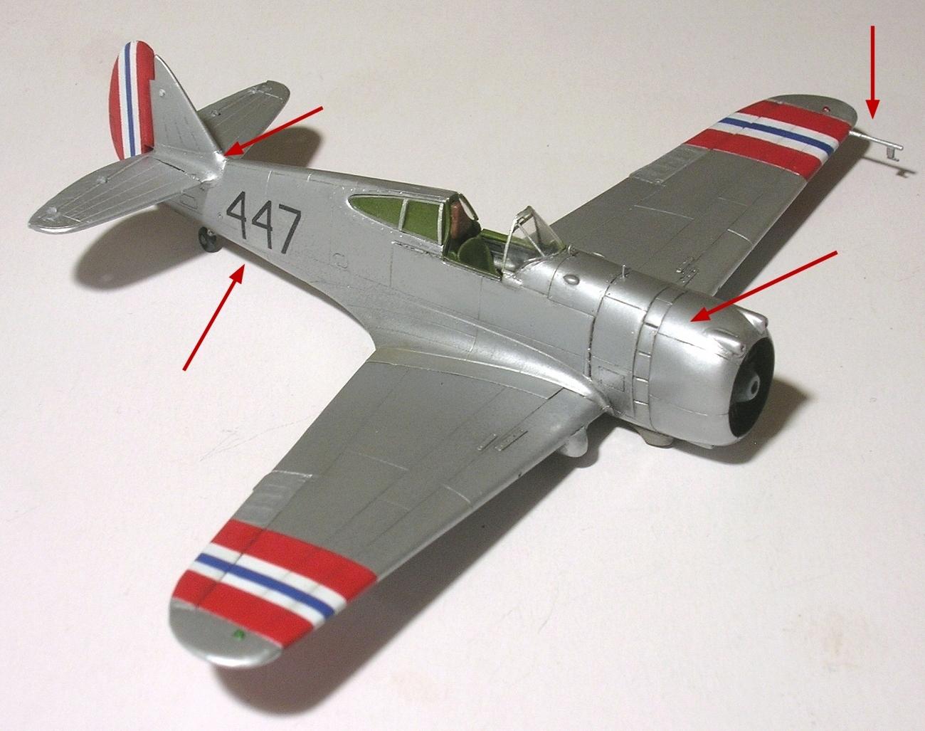 Montage_Curtiss H75A6 Hawk norvégien 1/72 - Page 4 Monta143