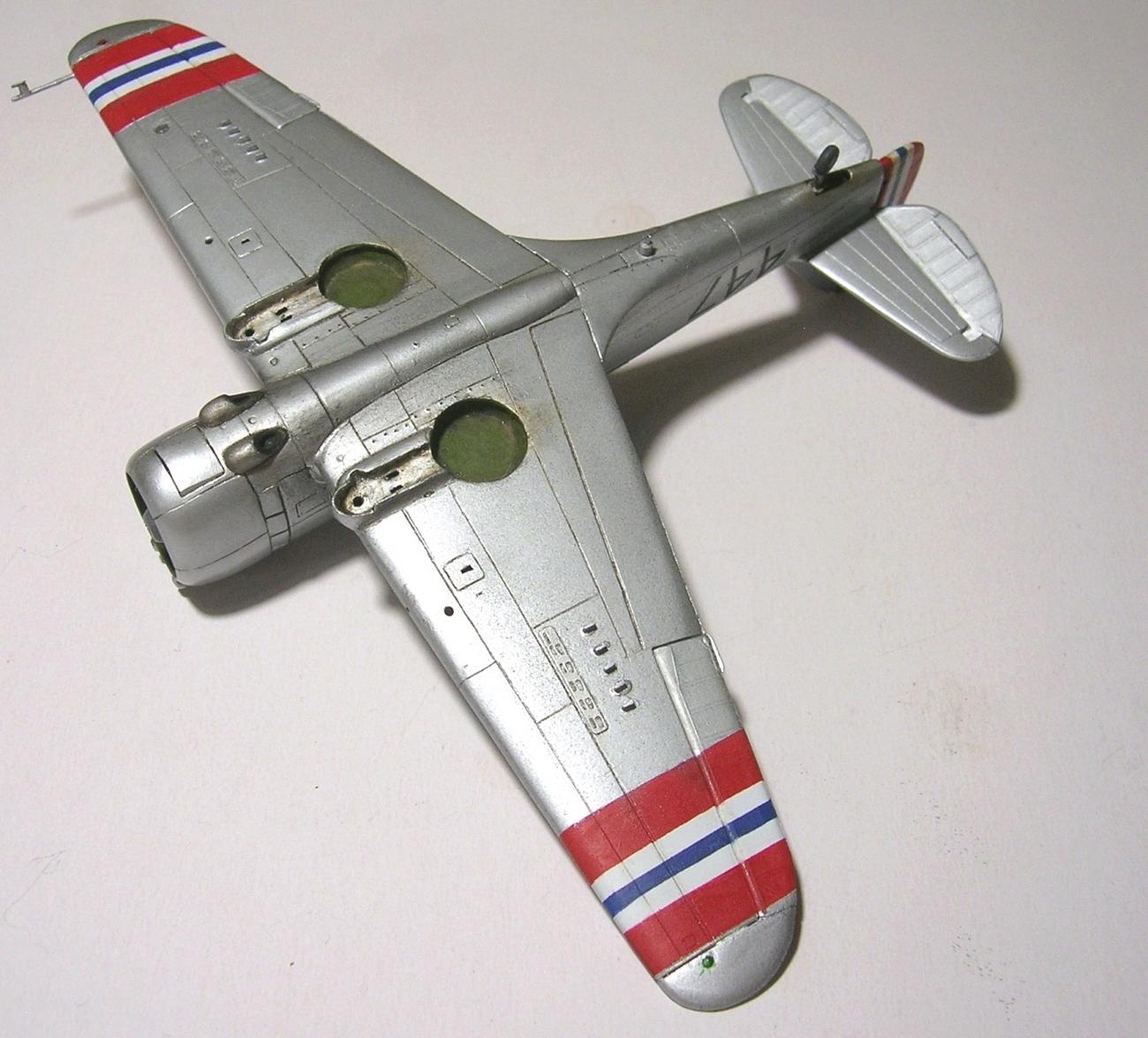 Montage_Curtiss H75A6 Hawk norvégien 1/72 - Page 4 Monta144