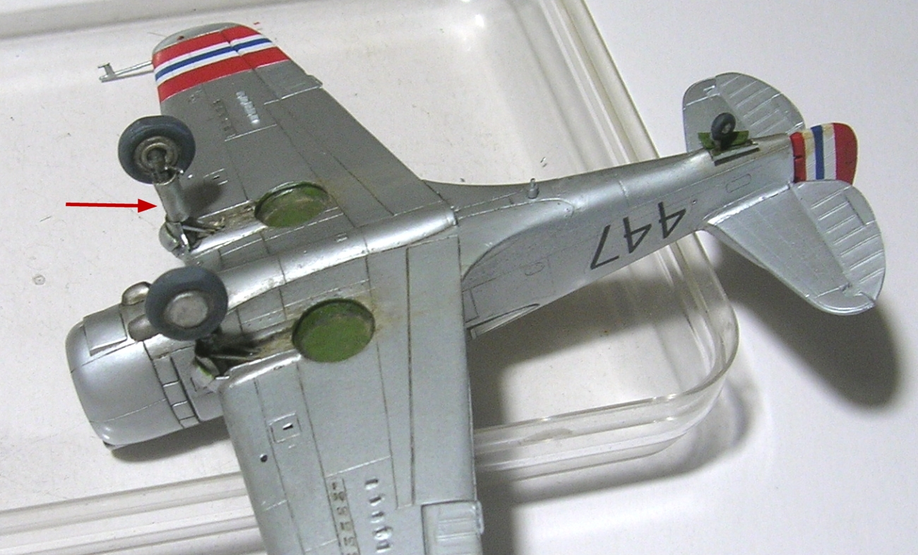 Montage_Curtiss H75A6 Hawk norvégien 1/72 - Page 5 Monta147