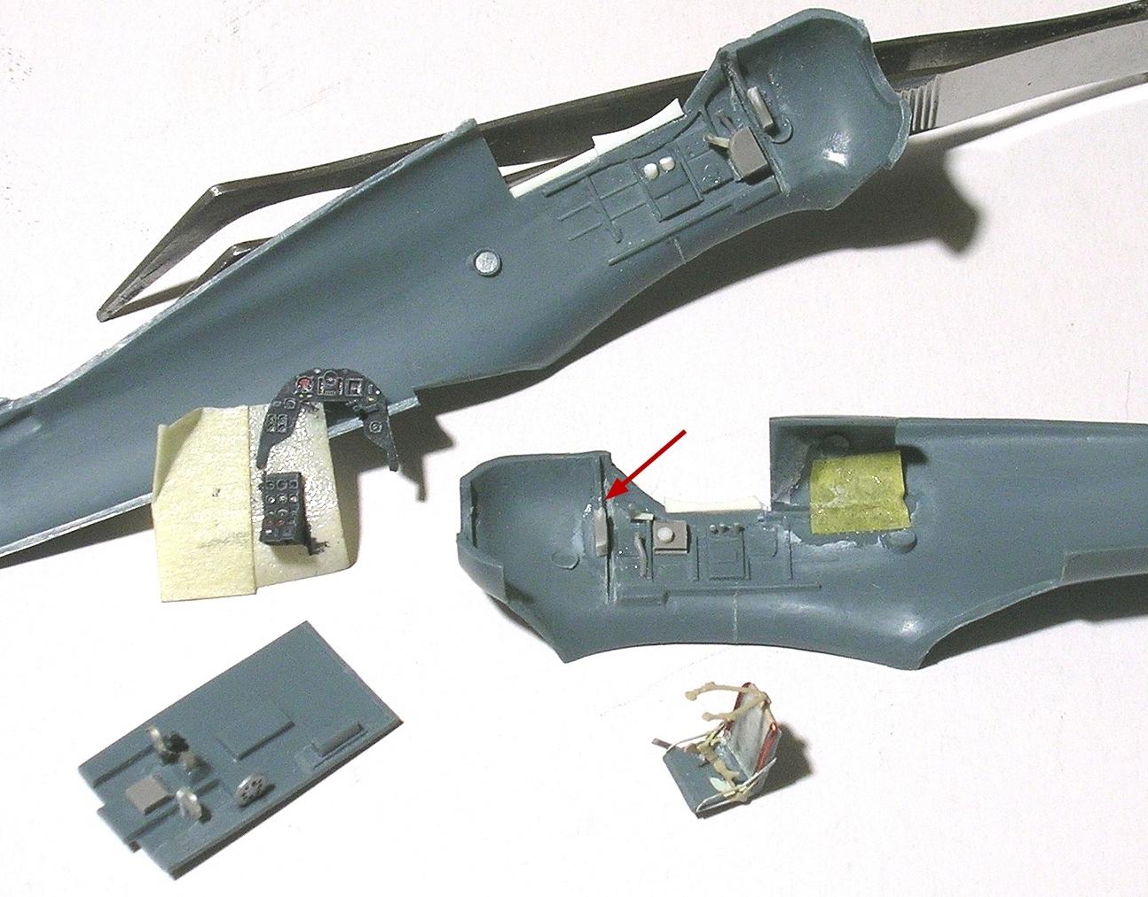 montage: Bloch MB152 Armée de l'Air [RS Models, Brengun, Falcon 1/72] - Page 2 Monta171
