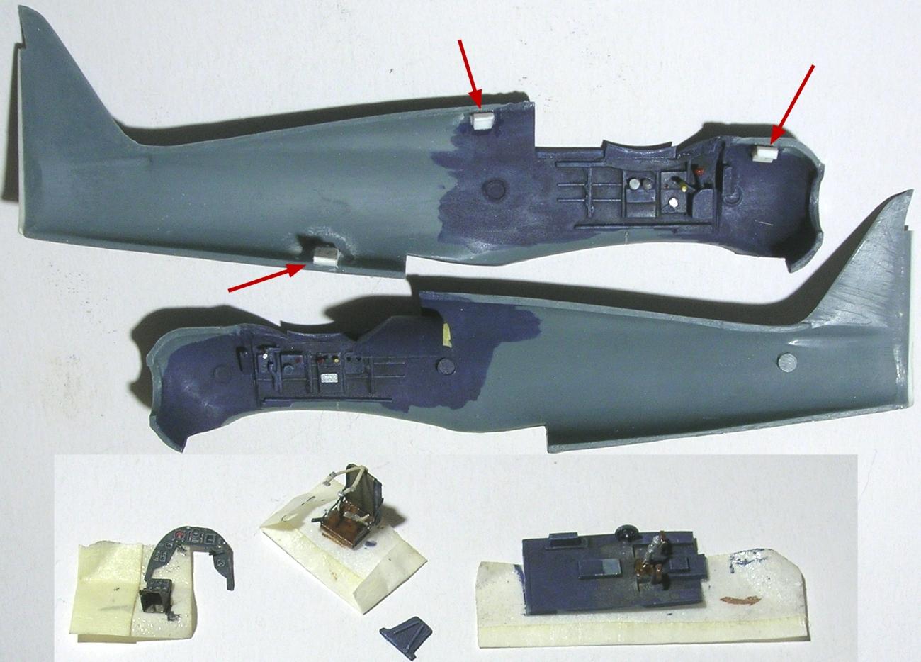 montage: Bloch MB152 Armée de l'Air [RS Models, Brengun, Falcon 1/72] - Page 2 Monta172