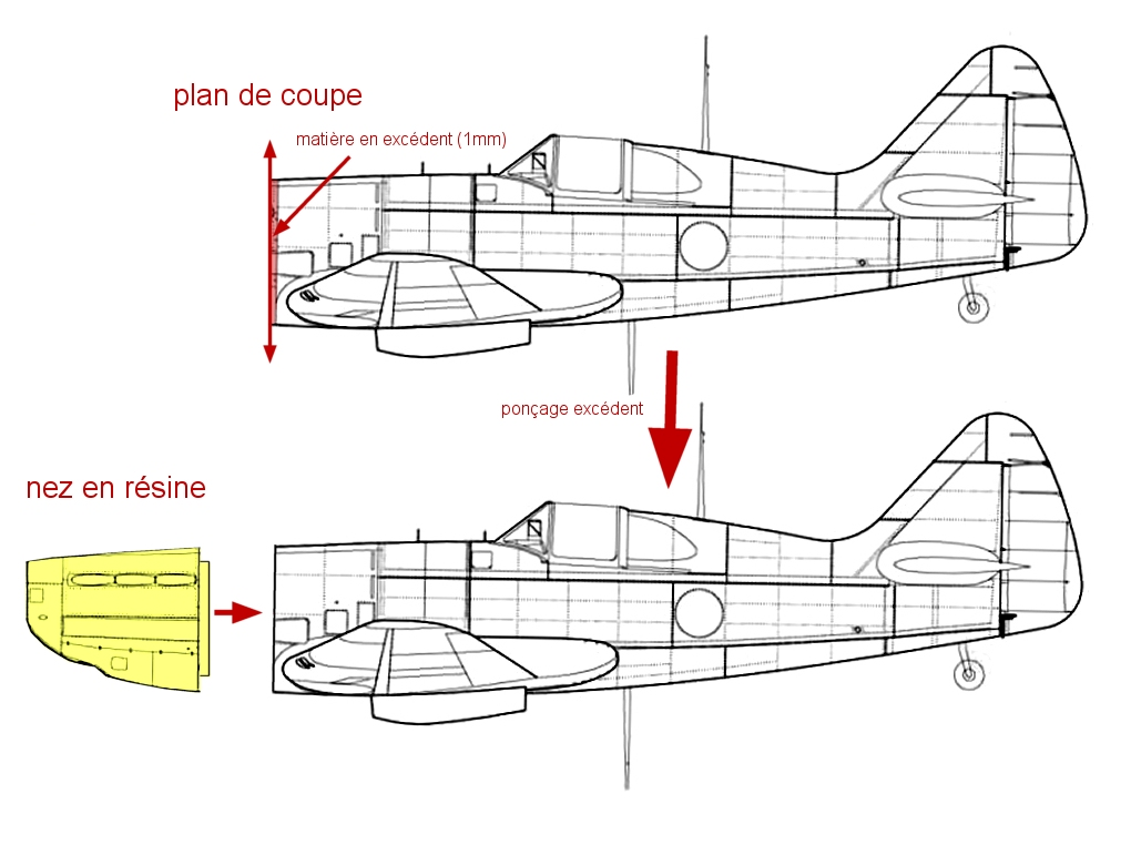 Montage: Dewoitine D520 Vichy en Syrie  - Page 2 Monta174