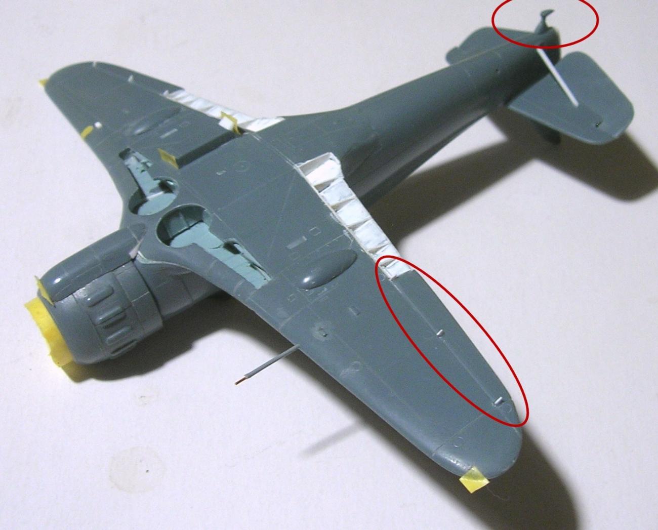 montage: Bloch MB152 Armée de l'Air [RS Models, Brengun, Falcon 1/72] - Page 4 Monta226