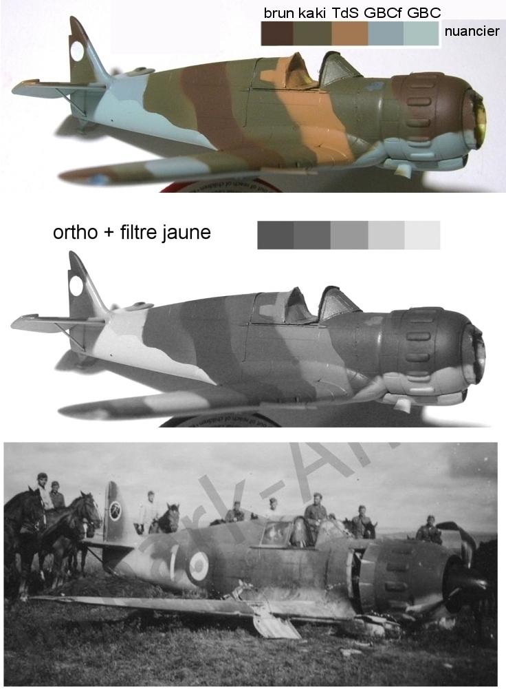 montage: Bloch MB152 Armée de l'Air [RS Models, Brengun, Falcon 1/72] - Page 4 Monta236