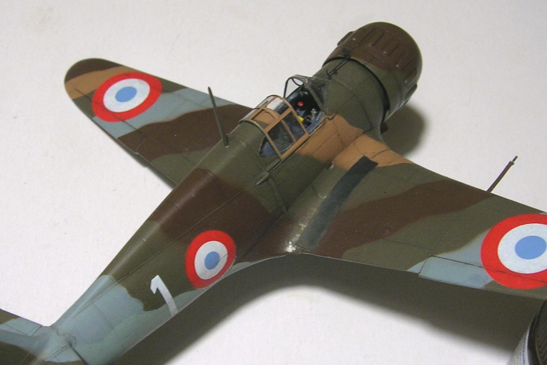 montage: Bloch MB152 Armée de l'Air [RS Models, Brengun, Falcon 1/72] - Page 6 Monta264