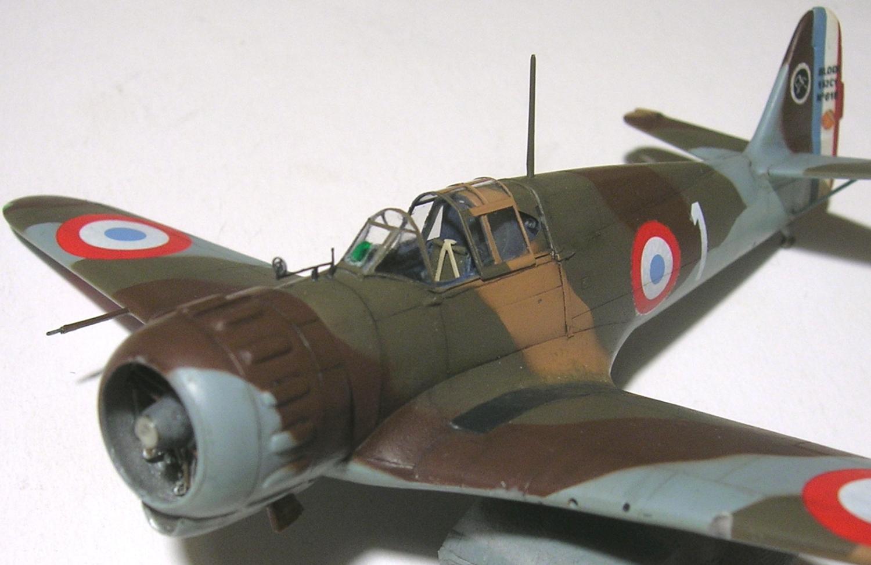 montage: Bloch MB152 Armée de l'Air [RS Models, Brengun, Falcon 1/72] - Page 6 Monta265