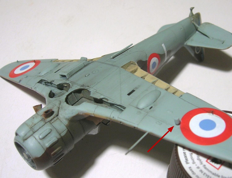 montage: Bloch MB152 Armée de l'Air [RS Models, Brengun, Falcon 1/72] - Page 6 Monta266
