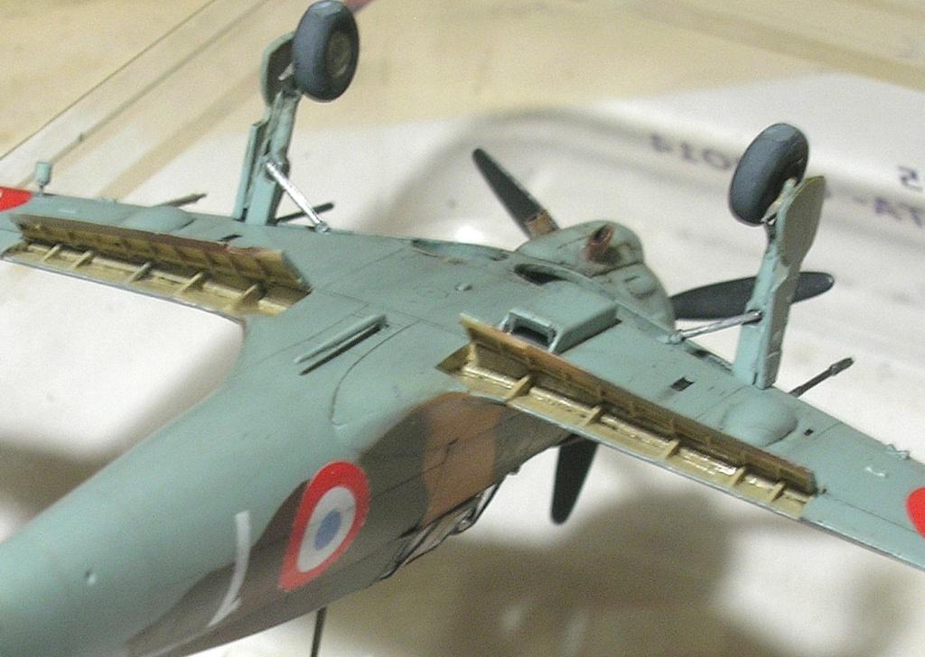 montage: Bloch MB152 Armée de l'Air [RS Models, Brengun, Falcon 1/72] - Page 6 Monta277