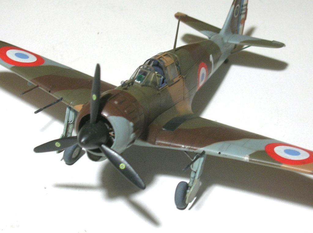 montage: Bloch MB152 Armée de l'Air [RS Models, Brengun, Falcon 1/72] - Page 6 Monta278